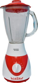 American Heritage 1.5 L Glass Jar Blender AHBL-6102