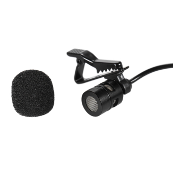 Andoer 150cm Cellphone Smartphone Mini Dual-Headed Omni-DirectionalMic Microphone with Collar Clip for iPad iPhone5 6s 6 PlusSmartphones - intl - 4
