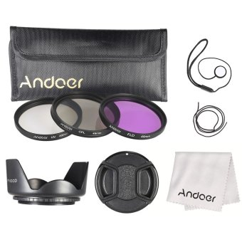 Andoer 49mm Filter Kit (UV+CPL+FLD) - INTL