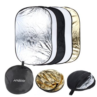 Andoer 5 in 1 Multi Portable Collapsible Reflector - Intl