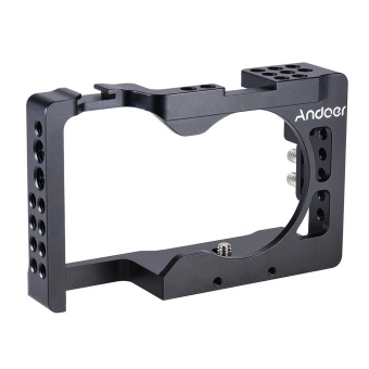 Andoer Aluminum Alloy Camera Cage for Sony A6500 ILDC Camera - intl