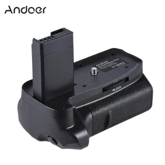 Andoer BG-1H Vertical Grip Compatible with 2 * LP-E10 for Canon EOS1100D 1200D 1300D / Rebel T3 T5 T6 / kiss X50 X70 DSLR CamerasOutdoorfree - intl