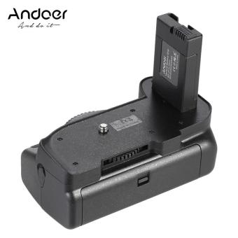Andoer BG-2G Vertical Grip Holder for Nikon D5100 D5200 D5300 DSLRCamera EN-EL 14 Outdoorfree - intl
