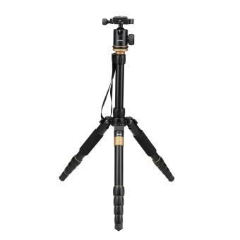 Andoer Digital Camera Camcorder Video Tripod Monopod Ball Head (Black) - 4