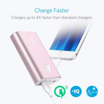 Anker PowerCore+ 10050 Portable Charger Pink - 2