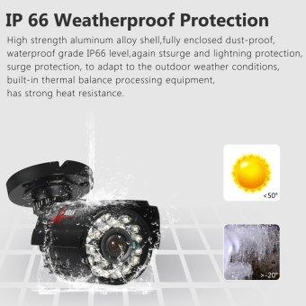 ANRAN 960H Analog 1200TVL CCTV Camera Infrared Outdoor Night Vision Waterproof Security Camera - 2