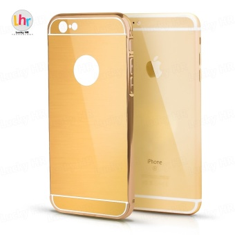 Anti-Scratch Hybrid Electroplate Case for iPhone 6/6s (Bronze)