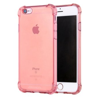 Anti-shock Silicone TPU back cover case for Apple iPhone 6S Plus/ 6Plus (Rose Gold) - intl Price Philippines