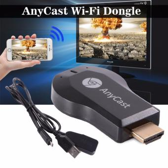 AnyCast M2 Plus Mini Wi-Fi Display Dongle Receiver 1080P AirmirrorDLNA Airplay Miracast Easy Sharing HDMI Port for HDTV Smart PhonesNotebook Tablet PC