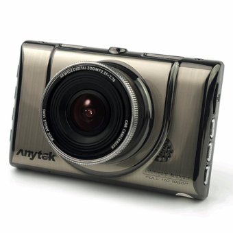 Anytek A100+ 170? Car Camera DVR FHD1080P H.264 Dash cam G-Sensor (Silver) - 2