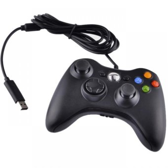 ap- USB Wired Dual Shock Game Controller For Xbox 360 & WindowsPC