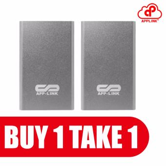APP-Link APN-998/APN-983/APN-968 20000mAh Power Bank Buy 1 Take 1(Silver)