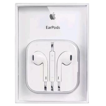 Apple 109dB Earpods / Headset with Remote and Mic for iPhone / iPod Touch / iPad / iPad Mini (White)