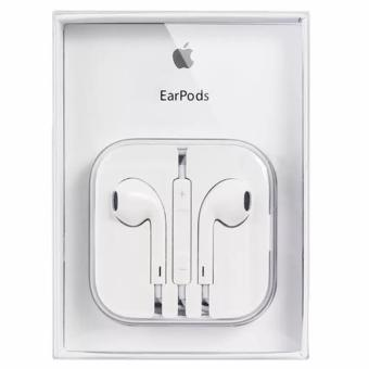 Apple 109dB Earpods / Headset with Remote Controller and Mic foriPhone / iPod Touch / iPad / iPad Mini (White)