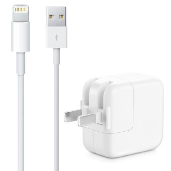 Apple 2A Adapter with 1m Lightning to USB Cable for iPhone 6/6s iPad (White)