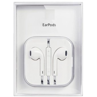 Apple Earpods with Volume Controller and Mic High-quality originalgifts to share (White)