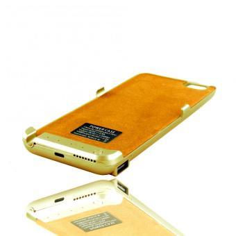 Apple Essentials 4.7 Heavy-Duty Metallic External Battery Case for iPhone 6/6S (Gold)
