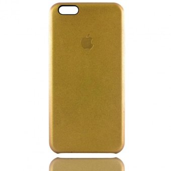 Apple Essentials Leather Coated Case for iPhone 6 Plus/ 6s Plus(Gold)