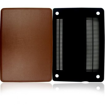 Apple Essentials Leather Coated Case for Macbook Air 13.3 (Brown) - picture 2