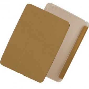 Apple Essentials Leather Smart Case for iPad Mini 2 (Gold)
