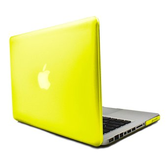Apple Essentials Matte Hard Case for Macbook Air 13.3 inches(Yellow)