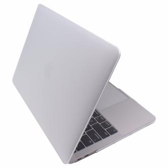 Apple Essentials Matte Hard Laptop Case for Macbook Pro 13.3 A1706/ A1708 (Clear)