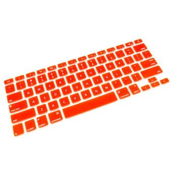 Apple Essentials Silicone Keyboard Protector for Macbook 13.3 (Orange) - picture 2