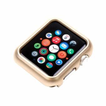 Apple Essentials Slim and Lightweight Case for Apple Watch 38mm(Gold)