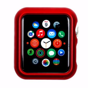 Apple Essentials Slim and Lightweight Case for Apple Watch 38mm(Red) - 3