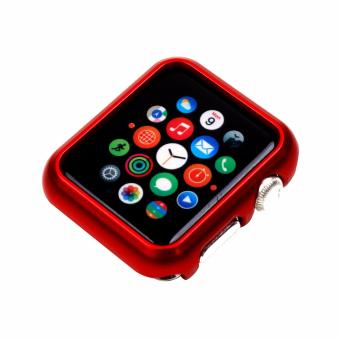 Apple Essentials Slim and Lightweight Case for Apple Watch 42mm(Red)