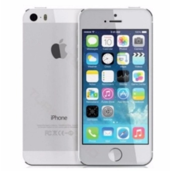 Apple Iphone5 32Gb(Silver) with Free Samsung 2A 1M Micro Usb Charger Charging Sync Data Cable For Smart Phone
