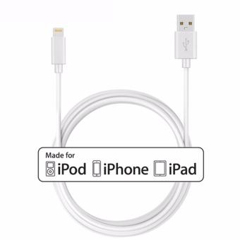 Apple Lightning To USB Cable Data Sync Cable Genuine AuthenticOriginal 1m (White)