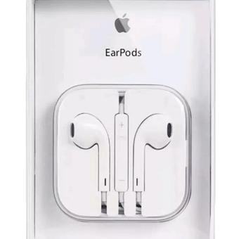 Apple original 109dB Earpods / Headset with Remote and Mic foriPhone / iPod Touch / iPad / iPad Mini (White)