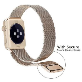 Apple Watch Band - 38mm Milanese Loop Stainless Steel BraceletStrap Magnetic Closure Clasp - Replacement Wrist Band for iWatchSeries 1 Series 2 Sport & Edition - intl - 2