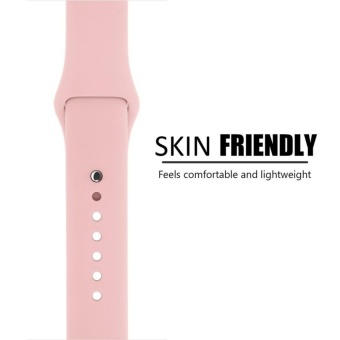 Apple Watch Band Series 1 Series 2,42mm Silicone Apple iWatch Smart Watch Sport Band Quick Release Bracelet Strap Wristband Replacement Watchband - intl - 4