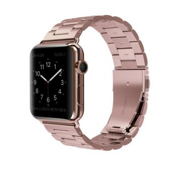 Apple Watch Band Stainless Steel Metal Watch Strap Replacement Bracelet for Apple iWatch 38mm - intl