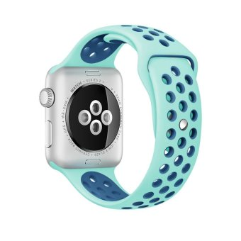 apple watch Series 2 Band,Venter(R) for Nike Soft SiliconeReplacement Sport Strap iWatch Band for Apple Watch 42mm All ModelSeries 1 and Series 2 - intl - 2