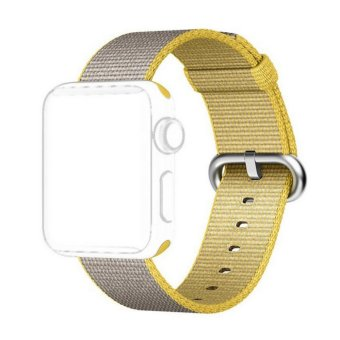 Apple Watch Strap 38mm,Premium Nylon Woven Smart Watch ReplacementWrist Watch Band with Adjustable Buckle for New Apple iWatch Series2/ Series 1 - intl