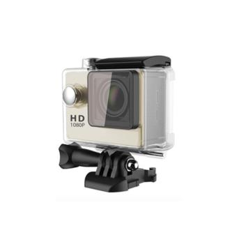 APPO A7 Ultra HD 1080P Waterproof Sports Action Camera (Gold) - 3