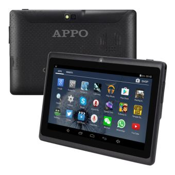 APPO A7 Wifi Upgraded HD Screen 512MB RAM 8GB ROM Quad-Core Cortex A7 1.5G Hz Tablet (Black)