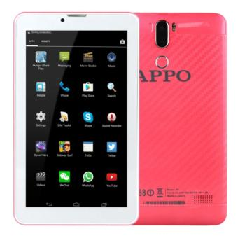 APPO A8 Plus Wi-Fi + Dual Sim Cellular Upgraded HD Screen 512MB RAM 8GB ROM Tablet (Pink)