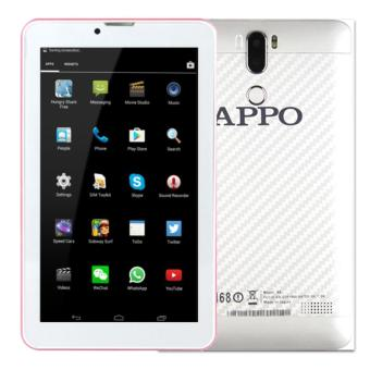APPO A8 Plus Wi-Fi + Dual Sim Cellular Upgraded HD Screen 512MB RAM 8GB ROM Tablet (White)