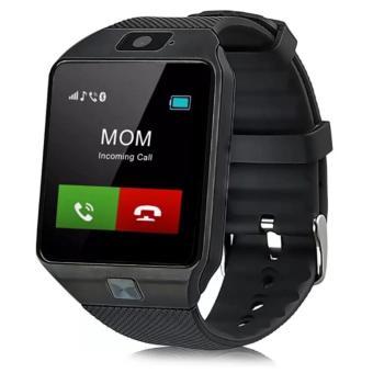 APPO DZ09 Bluetooth Phone Quad Smart Watch Touchscreen with Camera (Black) - 2