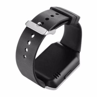 APPO M9 Bluetooth Phone Quad Smart Watch Touchscreen with Camera(Silver) - 5