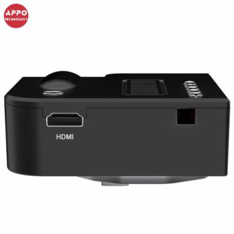 APPO UC28A 1080P Simplified Home Theater Micro LED Projector (Black) - 3