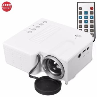 APPO UC28A 1080P Simplified Home Theater Micro LED Projector (White)