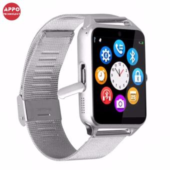 APPO Z60 Bluetooth Smart Watch Phone With SIM and TFSlotsCard(Silver) - 3