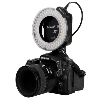 Aputure AHL-HN100 Higher CRI 95+ Value Amaran Halo LED Ring FlashLight for Nikon