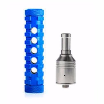 Ar Mod V1.5- USA Made Mechanical Mod w/free battery, charger andatomizer (Blue)
