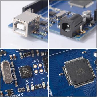 Arduino MEGA 2560 R3 Arduino Compatible Board with USB Cable - 3